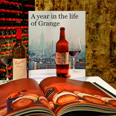 A year in the life of Grange. The Book