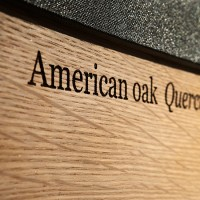 Collector's Edition - American Oak sides detail