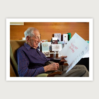 Dr Ray Beckwith OAM – 100 years young